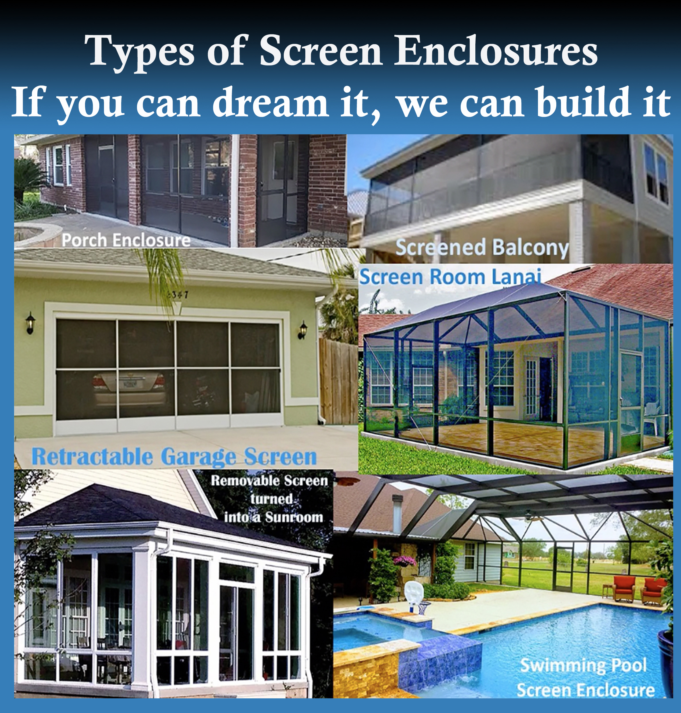 Pool Screen Enclosures And Liferoom In Houston Simmons Home Design