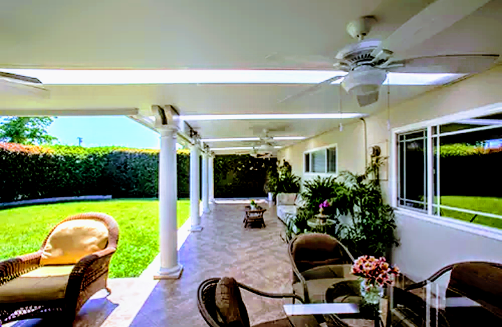 Skylights Patio Cover