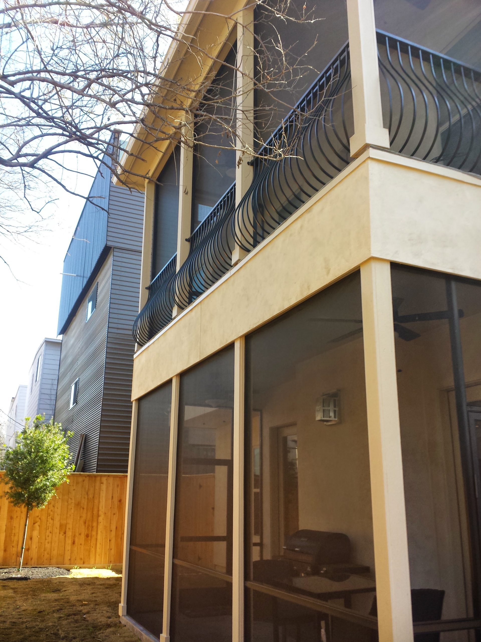 Screen Enclosed Patio and Balcony