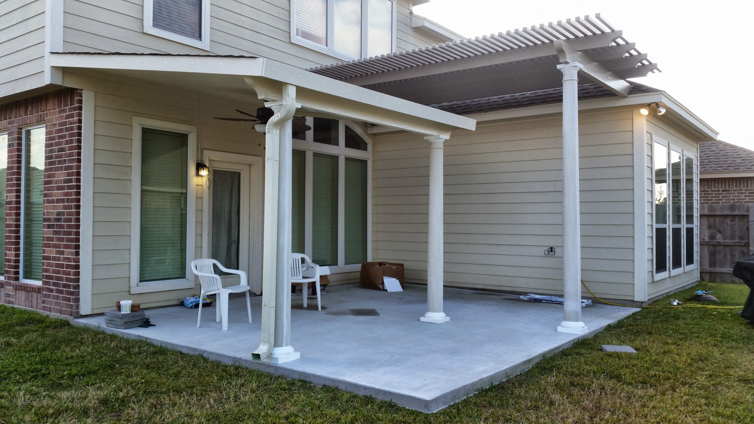 Patio Covers Awnings in White Pearland, TX