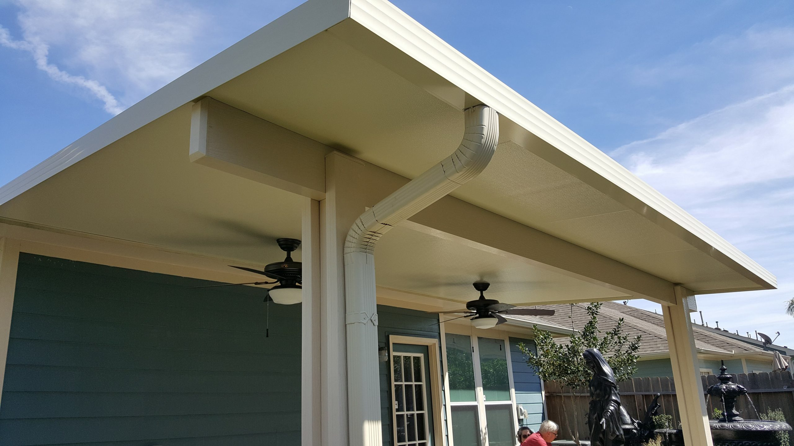 Close Look at Patio Covers Awnings Houston