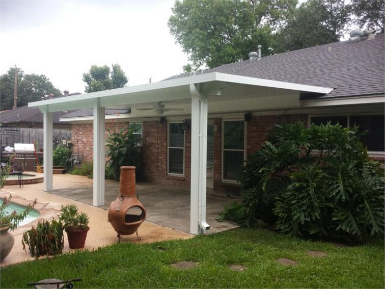 White Insulated Patio covers