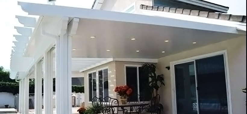 Featured Patio cover