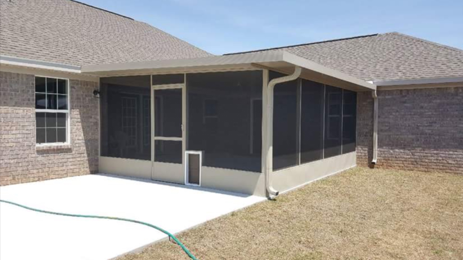 Patio cover Screen Room Baytown