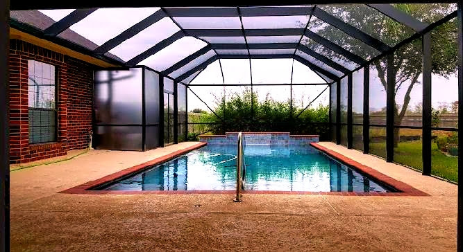 Swimming Pool Cage