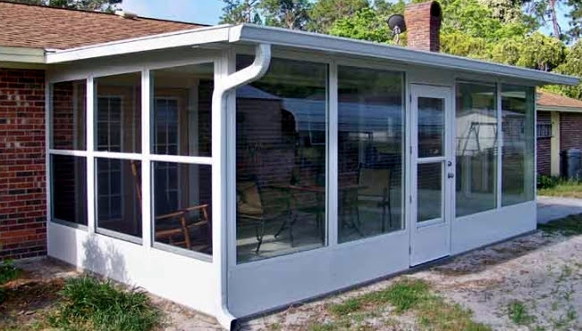 Patio cover Glass Room addition