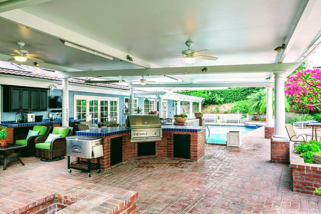 White Patio covers and Awnings